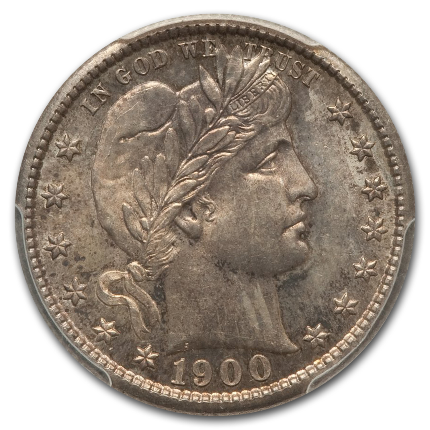 1900-S Barber Quarter MS-65 PCGS