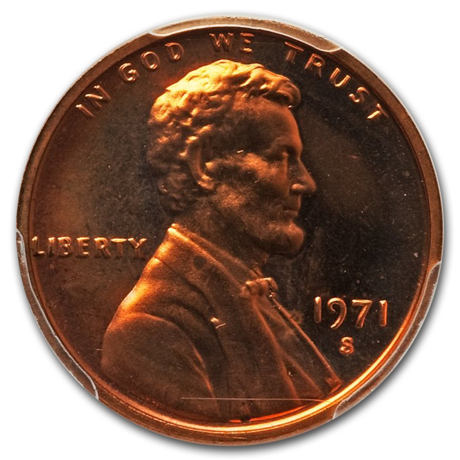 1971 1C Lincoln Cent Proof - 66 Cameo PCGS