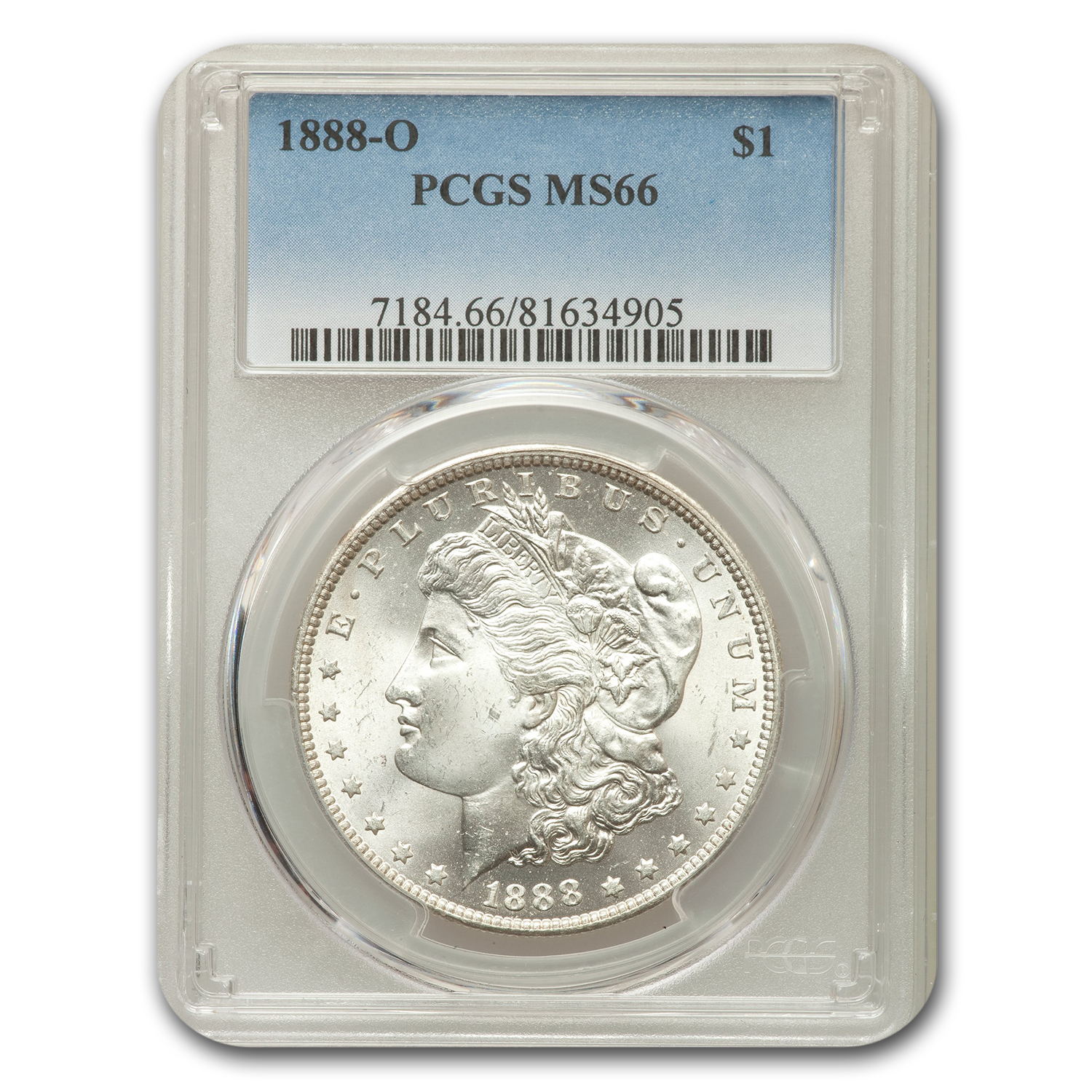 1888 $1 Morgan Dollar MS-66 PCGS