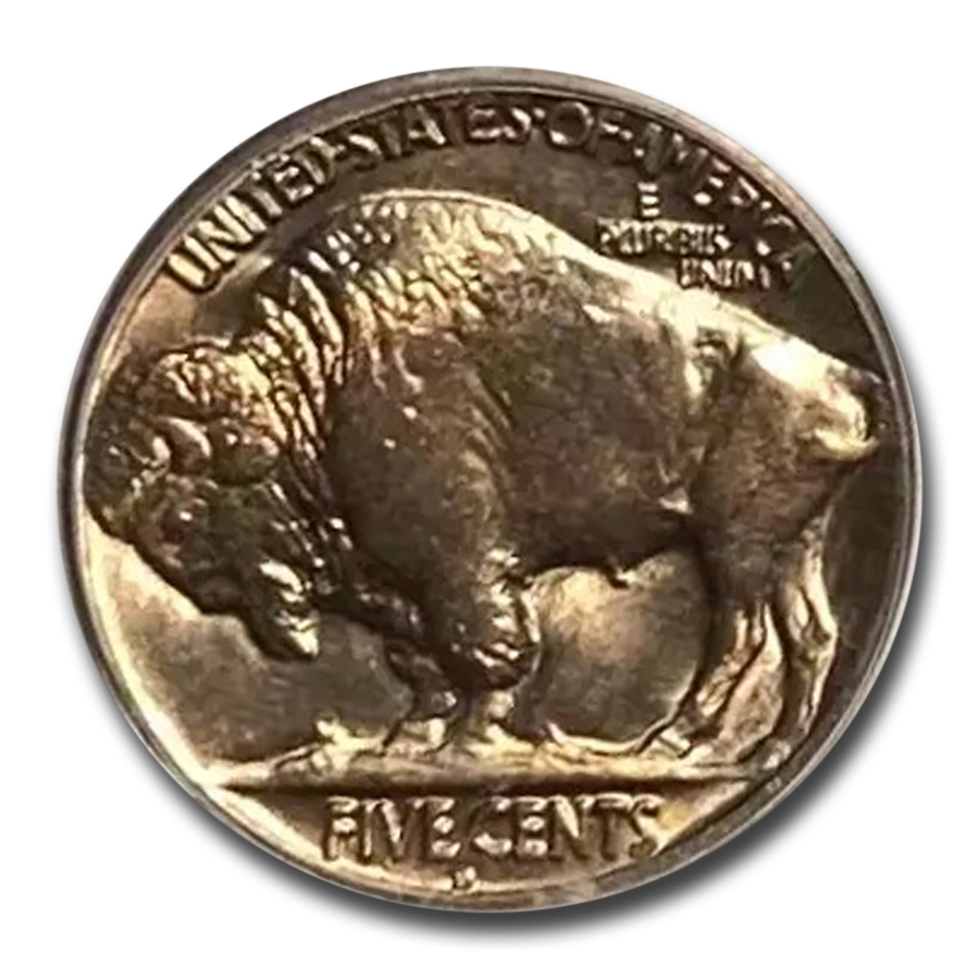 1928-D Buffalo Nickel MS-64 PCGS