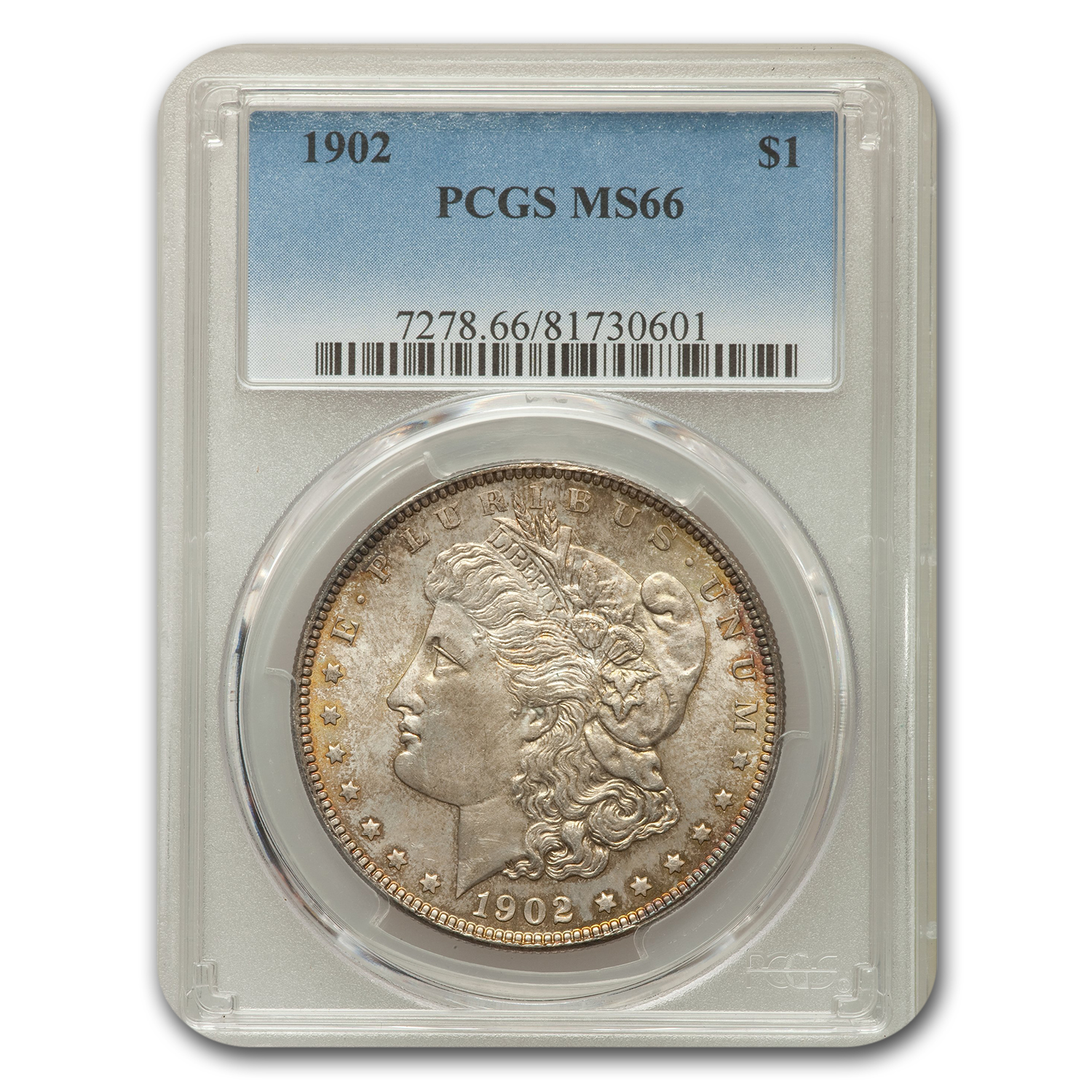 1902 $1 Morgan Dollar MS-66 PCGS