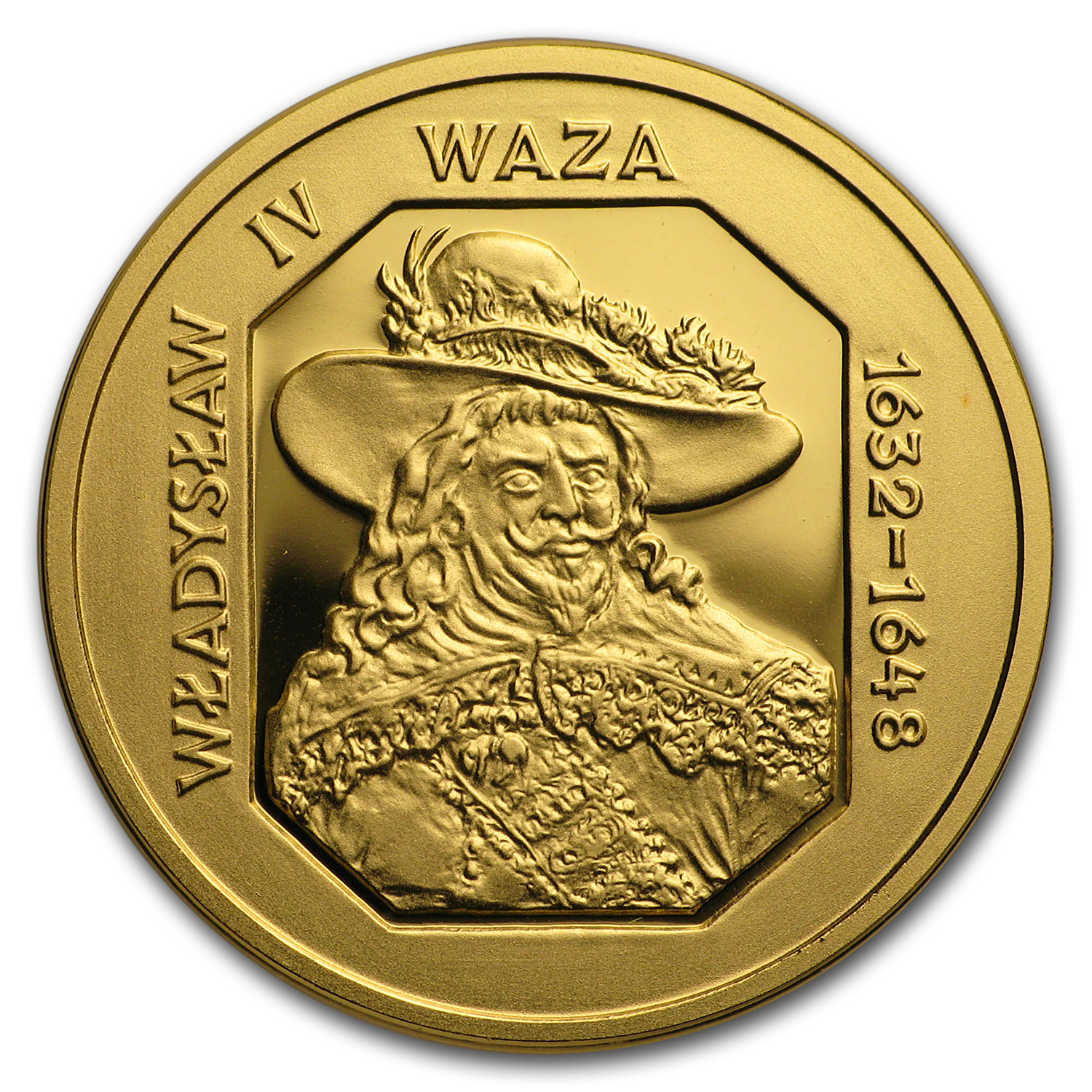 1999 Poland Proof Gold 100 Zlotych Wladyslaw IV