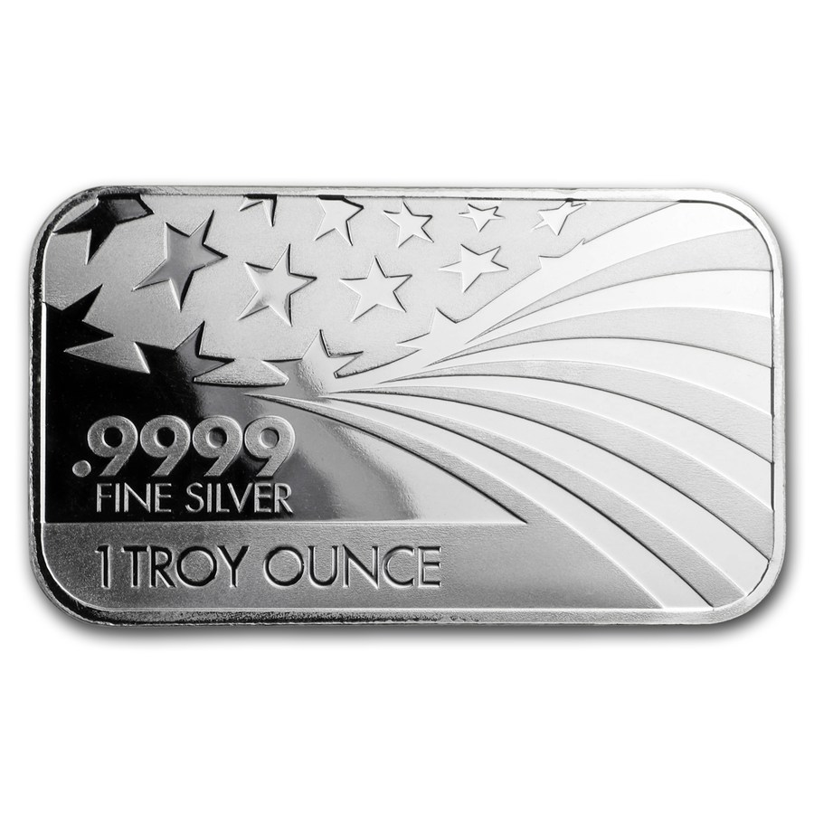 1 oz Silver Bar - APMEX/RMC (.9999 Fine, Co-Branded)