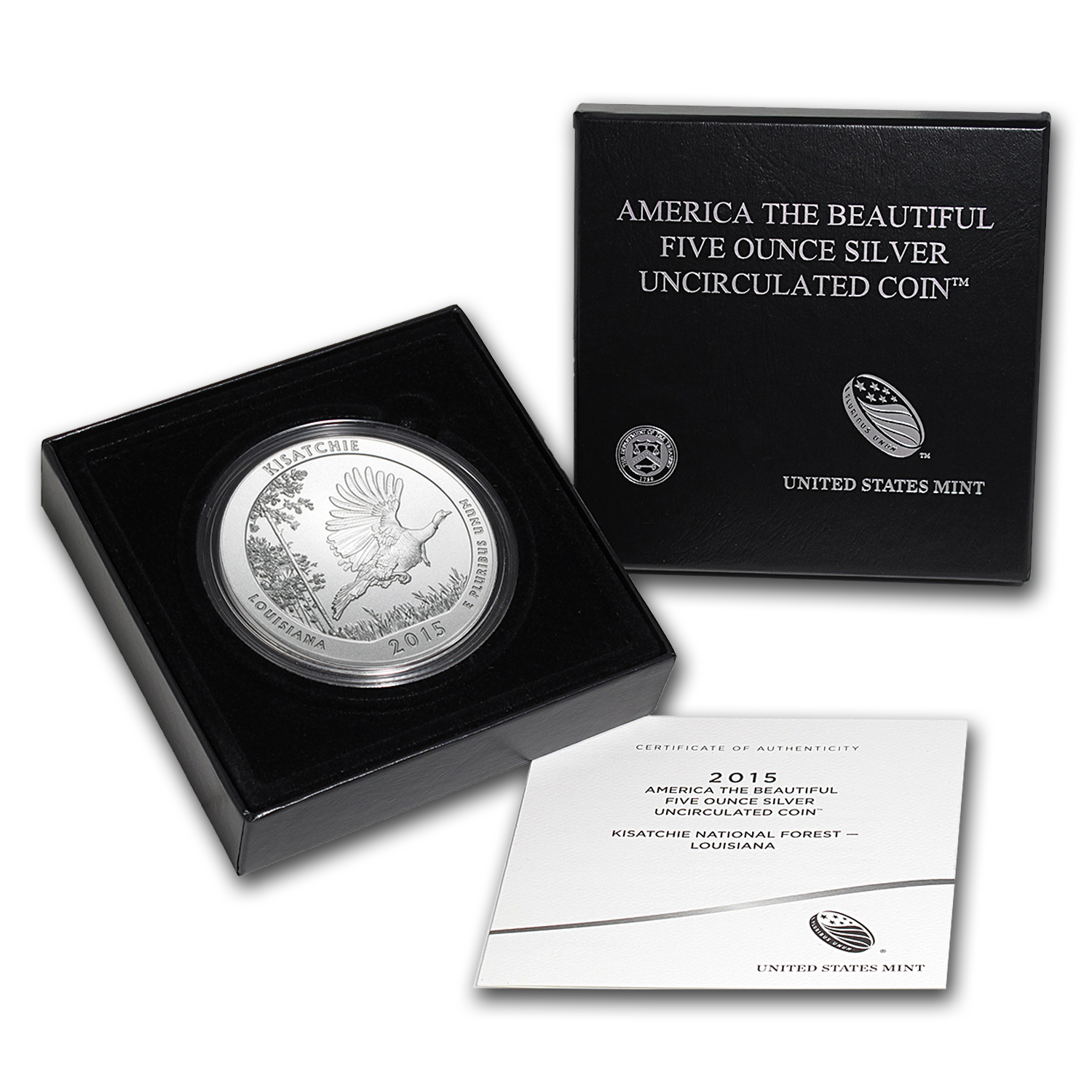 2010-2016-P 35-Coin Burnished 5 oz Silver ATB Set (w/Box & COA)
