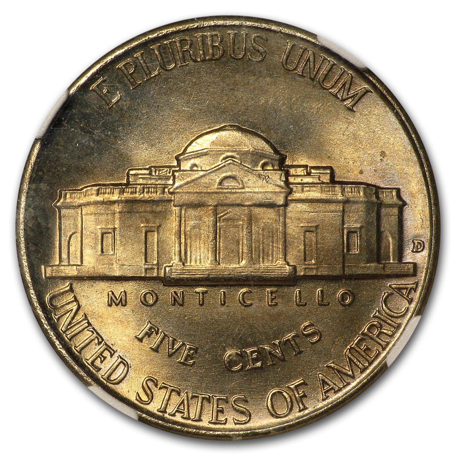 1938-D Jefferson Nickel MS-66 NGC
