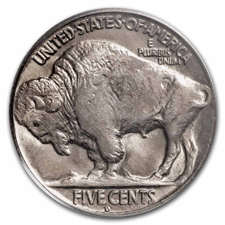 1928-D Buffalo Nickel MS-65 PCGS