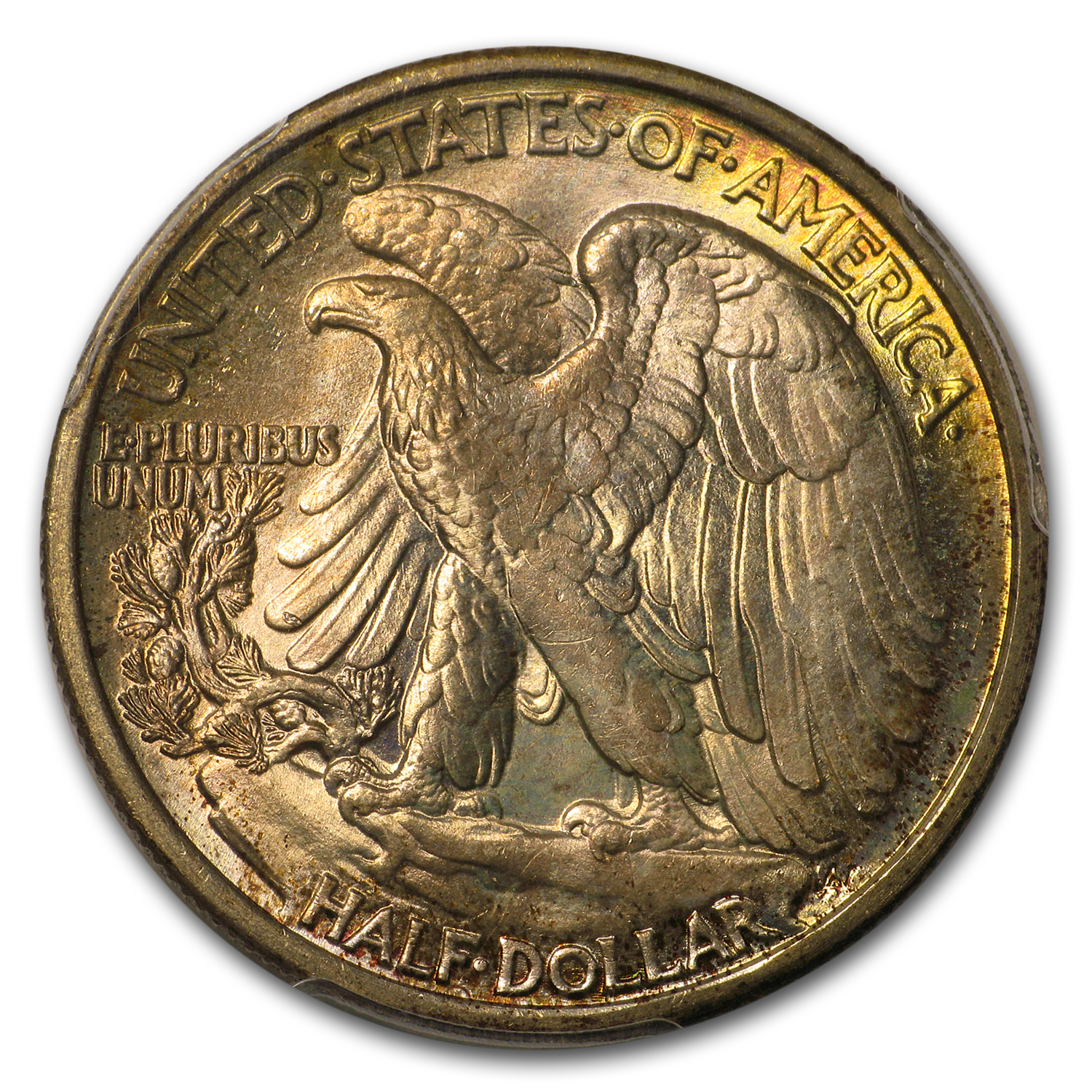 1935 Walking Liberty Half Dollar MS-66+ PCGS CAC