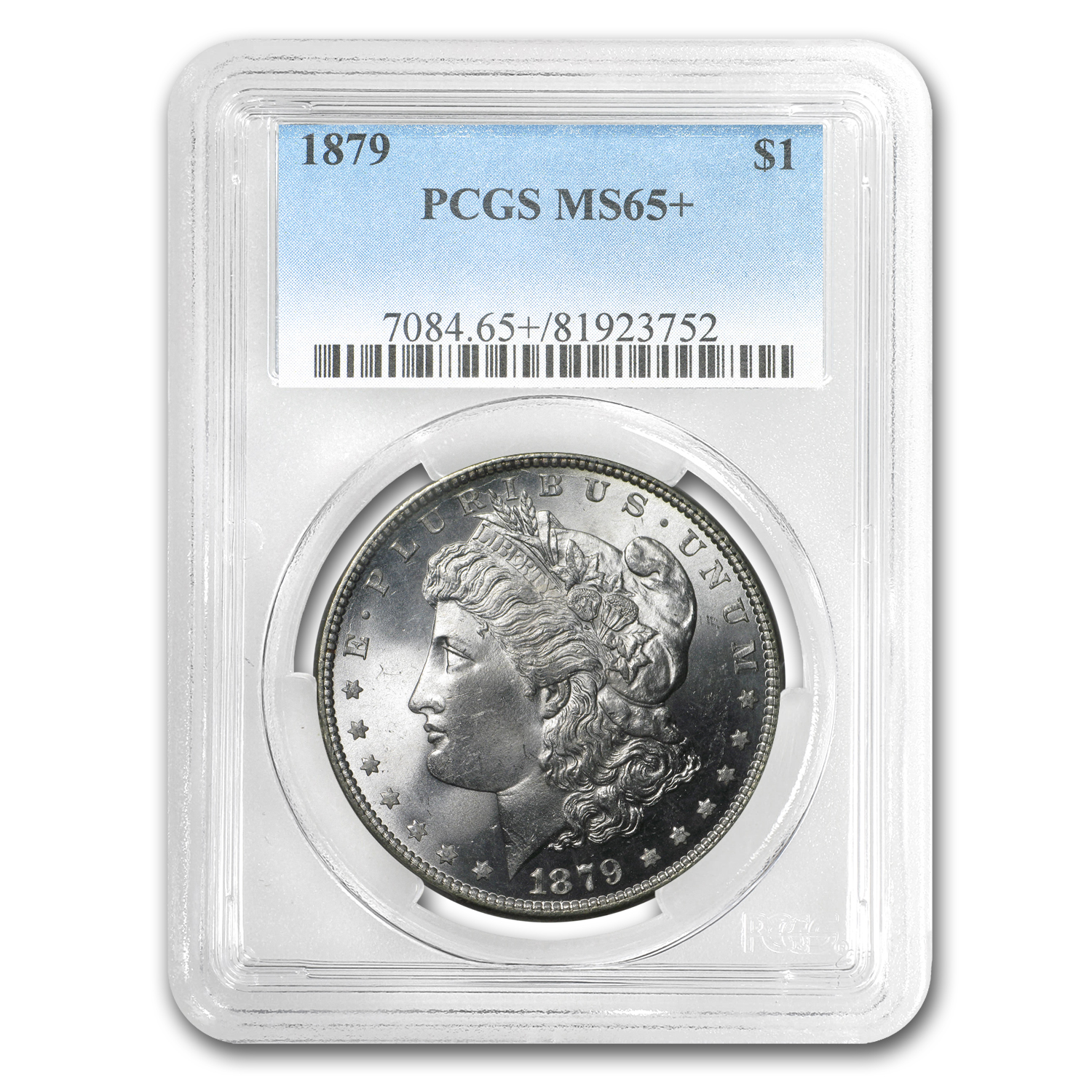 1879 Morgan Dollar MS-65+ PCGS