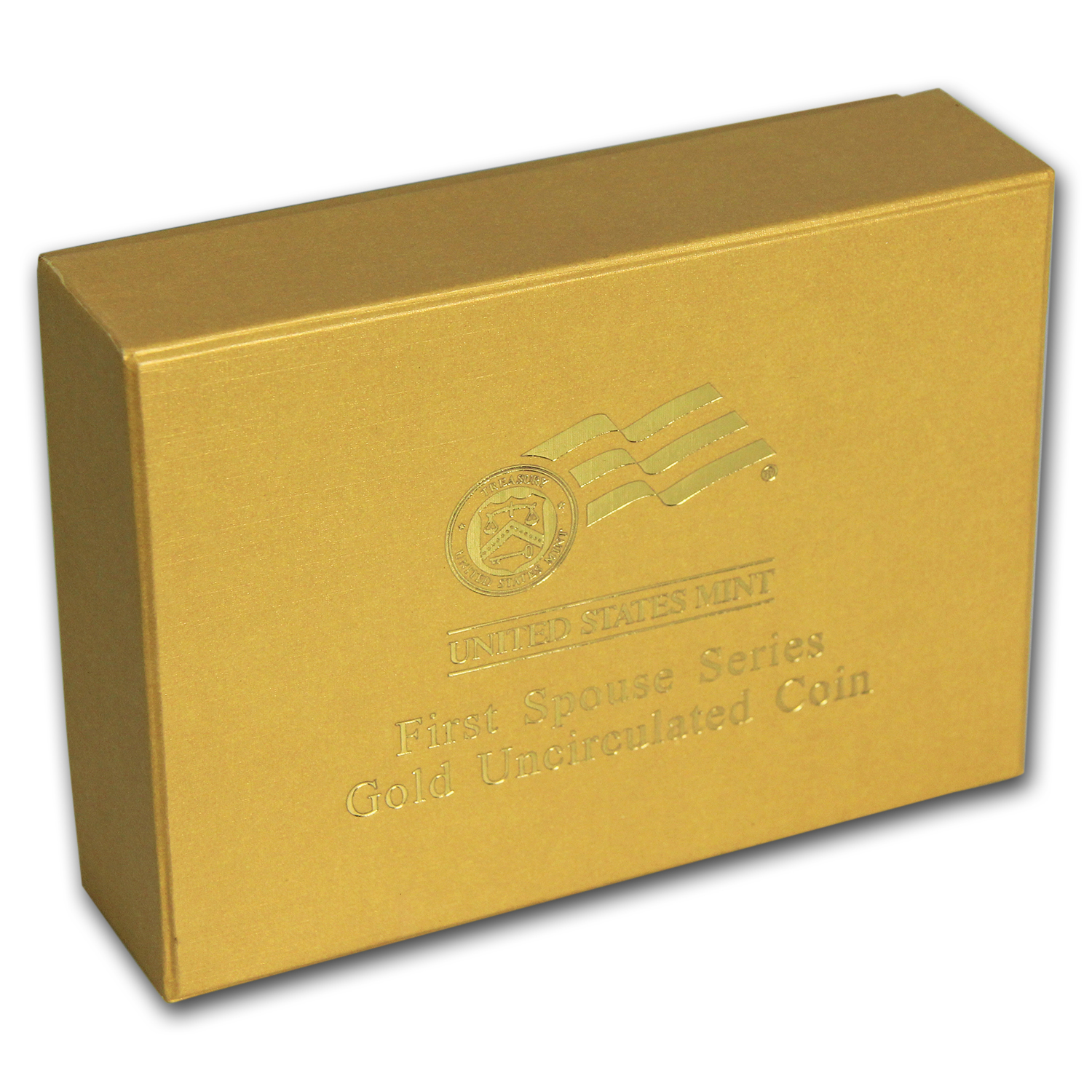 U.S. Mint First Spouse 1/2 oz Gold BU Box - Yellow (2007-2012)