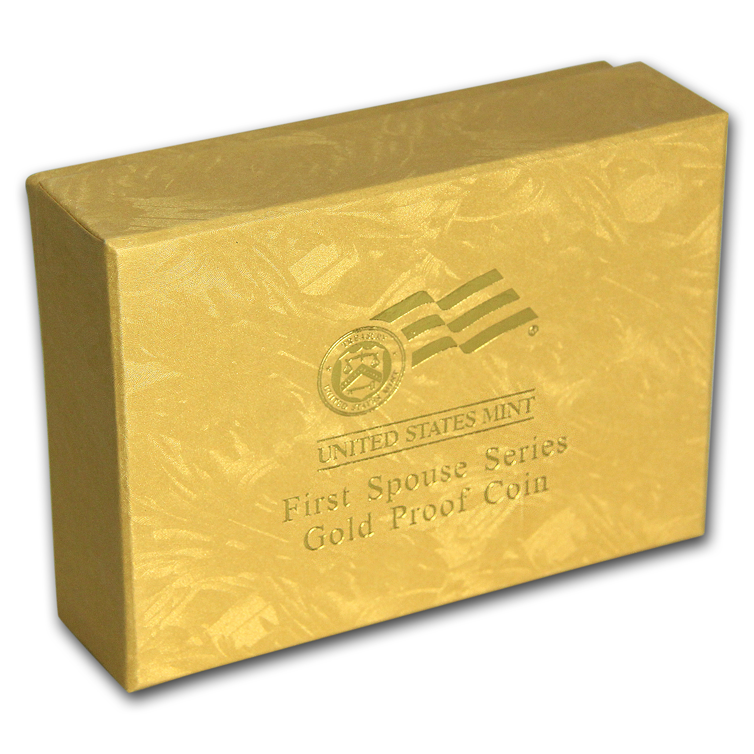 U.S. Mint First Spouse 1/2 oz Gold Proof Box - Yellow (2007-2012)