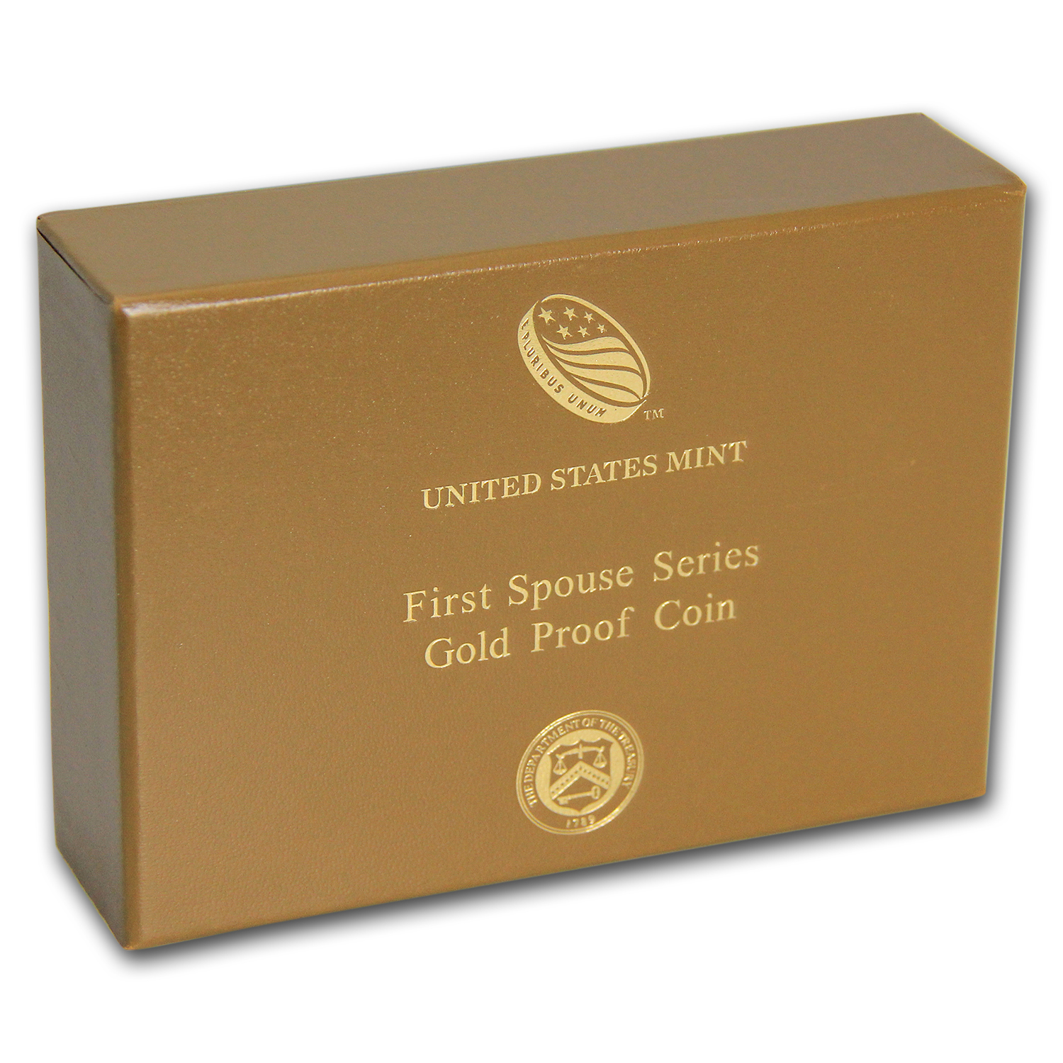 U.S. Mint First Spouse 1/2 oz Gold Proof Box - Brown (2012-2016)