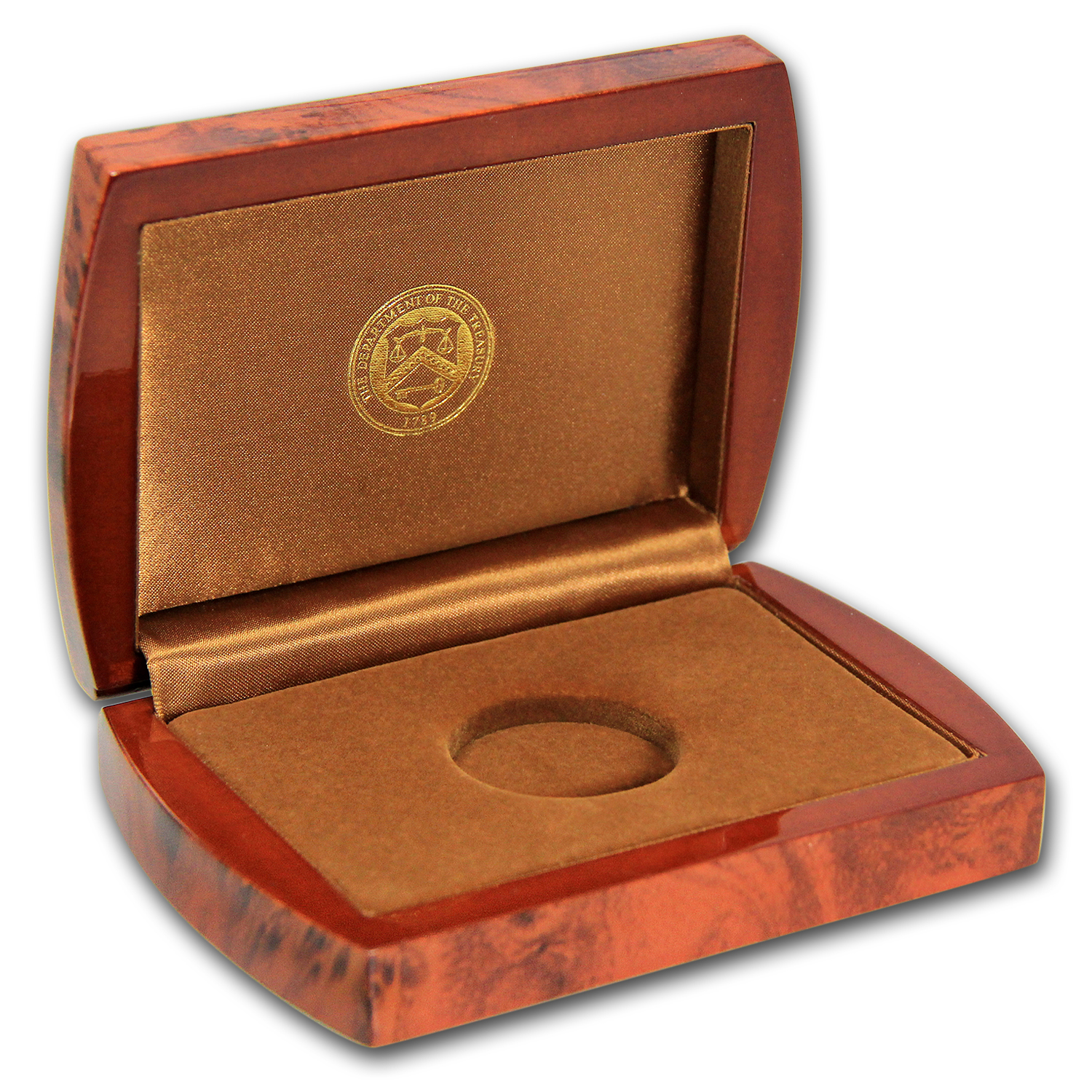 U.S. Mint First Spouse 1/2 oz Gold BU Box - Brown (2012-2016)