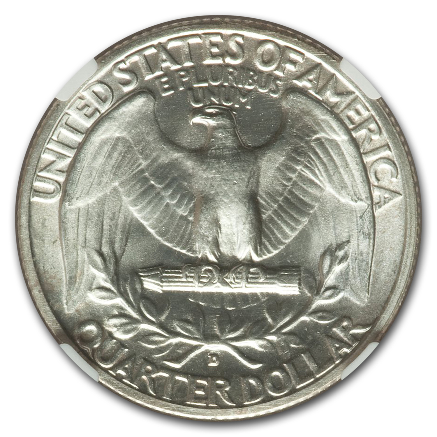 1936-D Washington Quarter MS-65 NGC