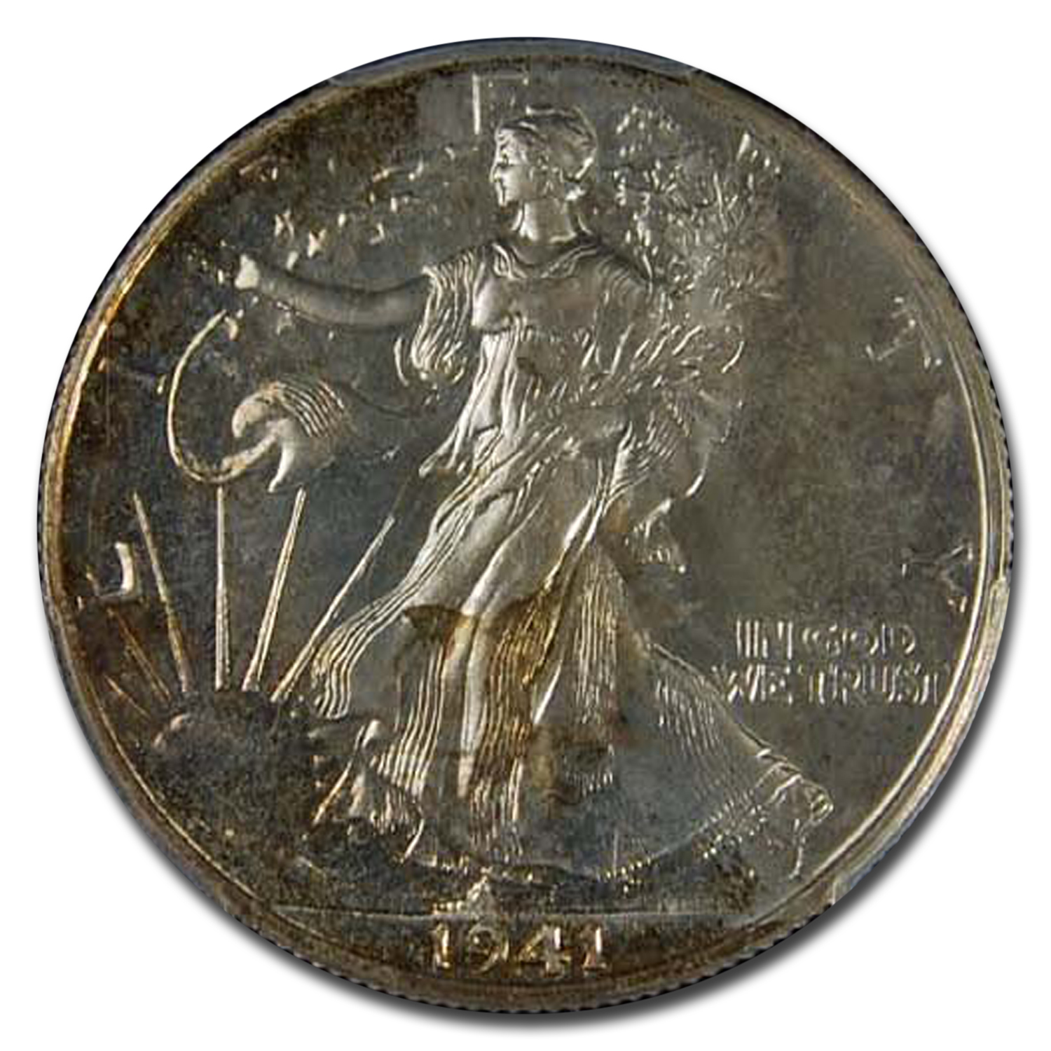 1941 Walking Liberty Half Dollar Proof-65 PCGS
