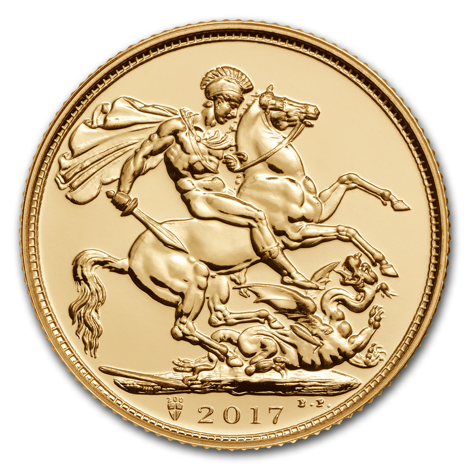 2017 Great Britain Gold Sovereign BU