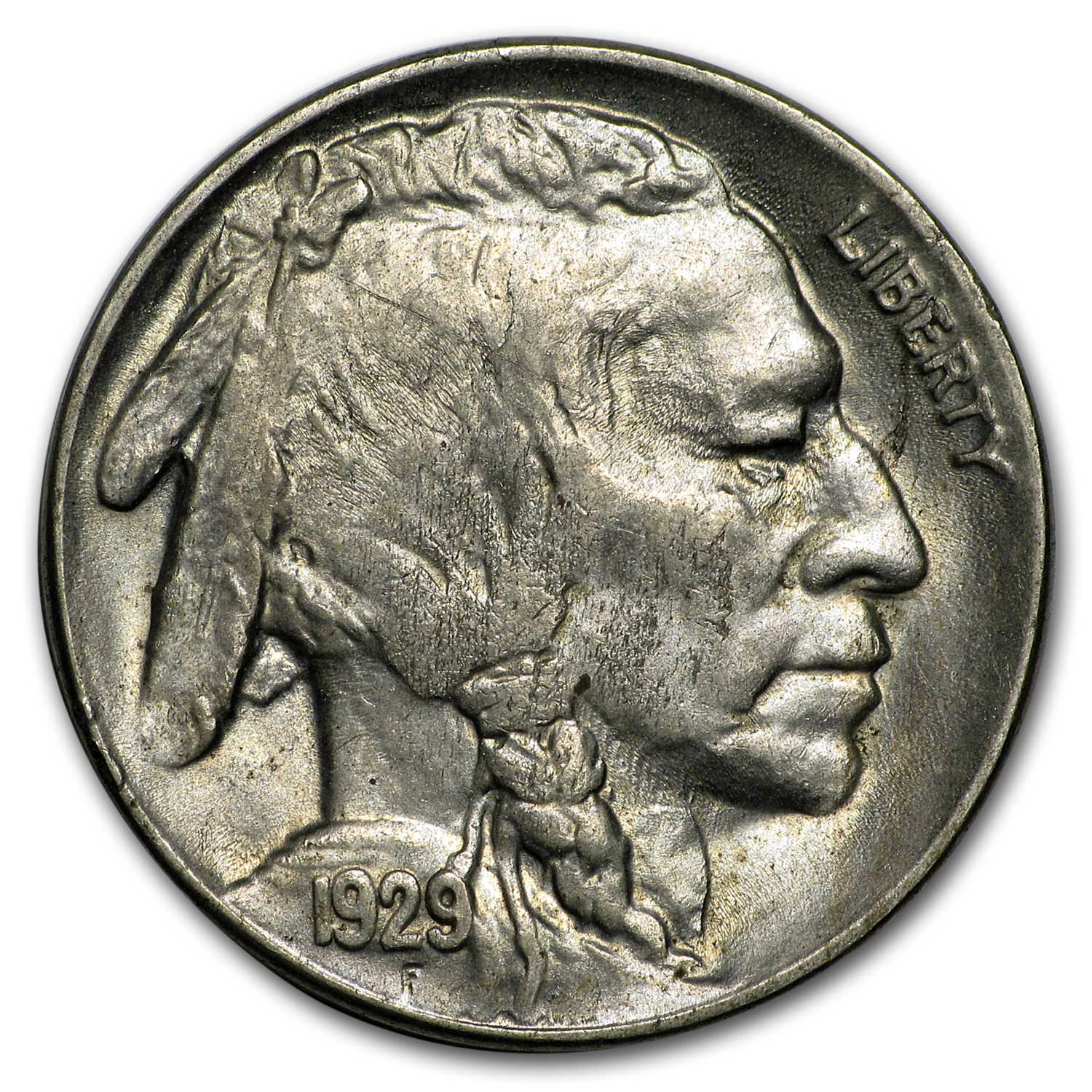 1929-S Buffalo Nickel Choice BU