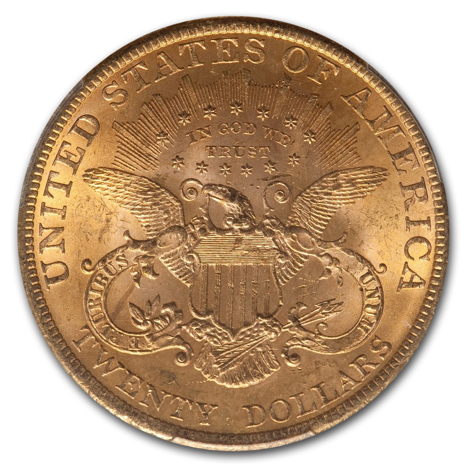 1900 $20 Liberty Gold Double Eagle MS-64+ PCGS CAC