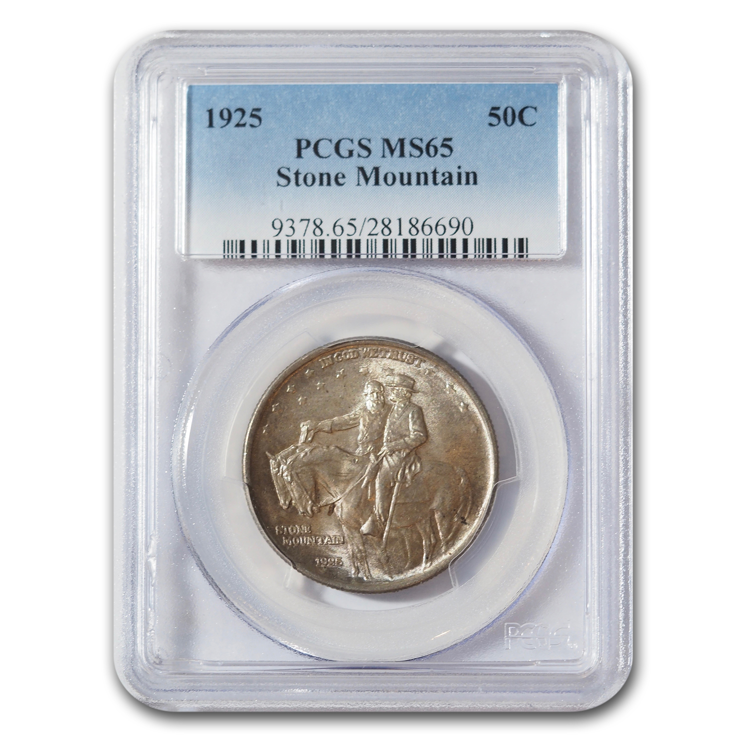 1925 Stone Mountain Memorial Half MS-65 PCGS