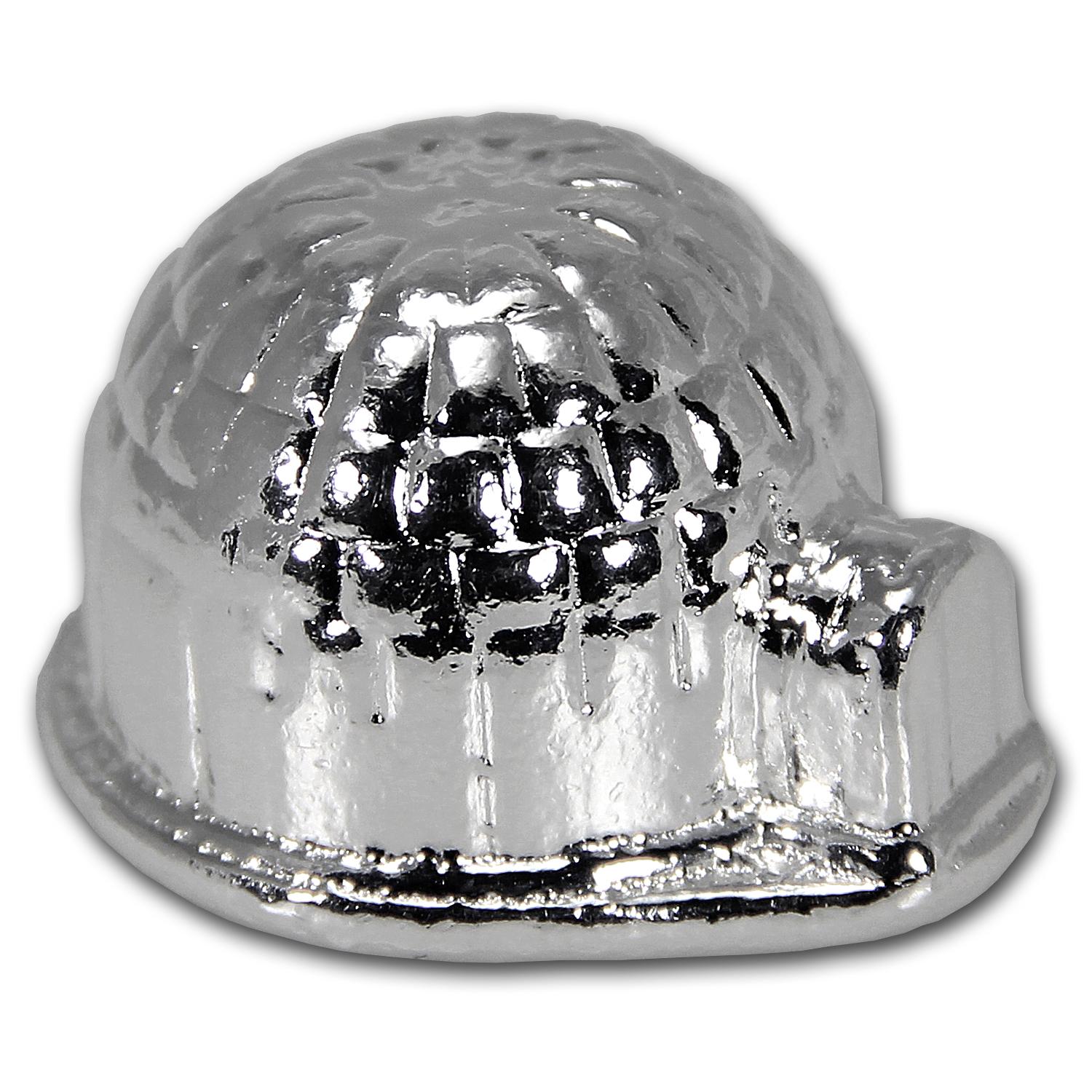 3 Oz Silver 3d Igloo Ericson Mint Yeager Poured Silver