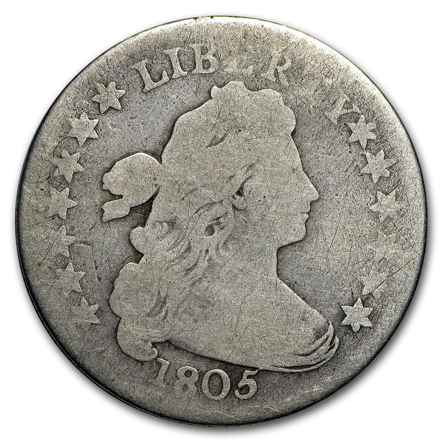1805 Draped Bust Dime Good