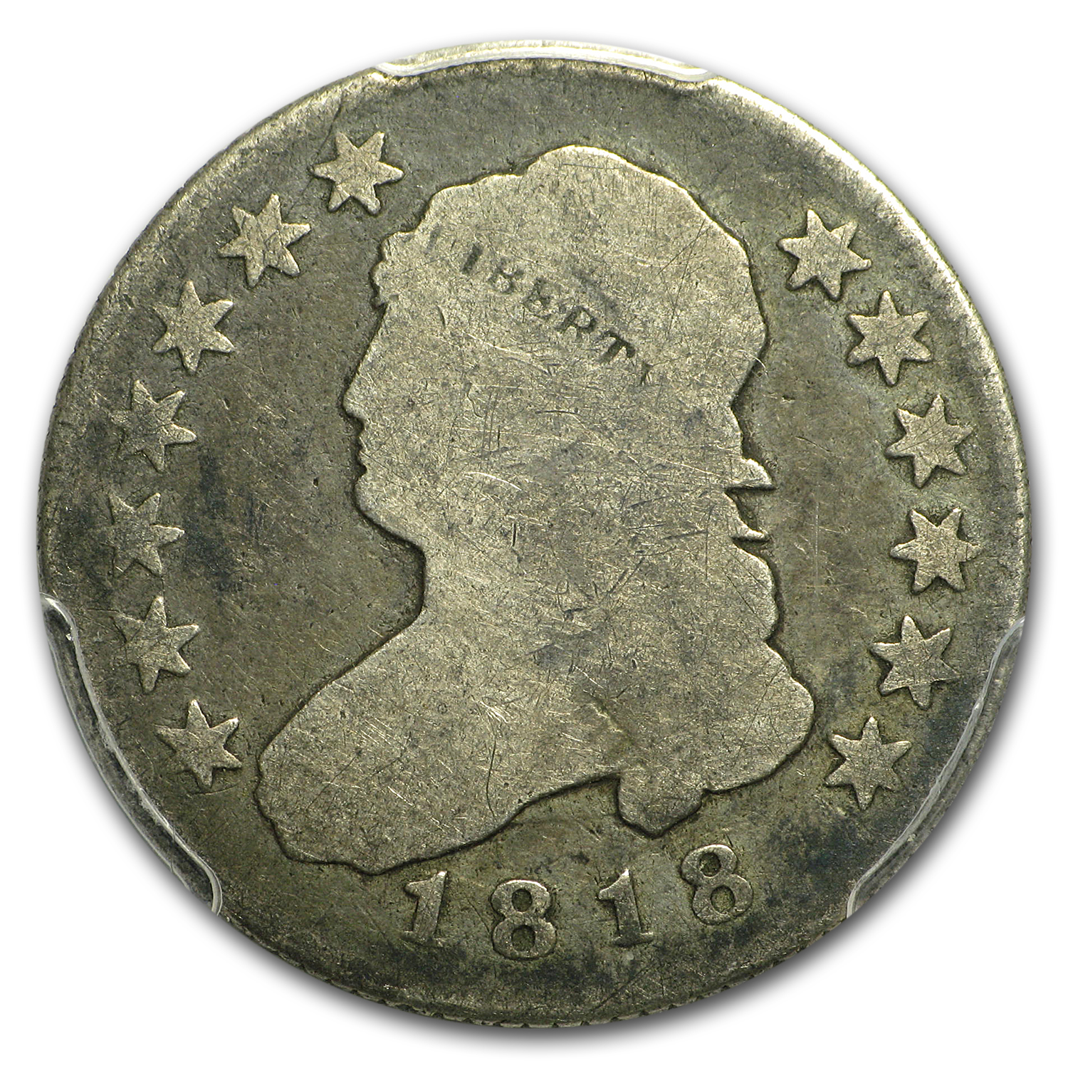 1818/5 Capped Bust Quarter Good-4 PCGS
