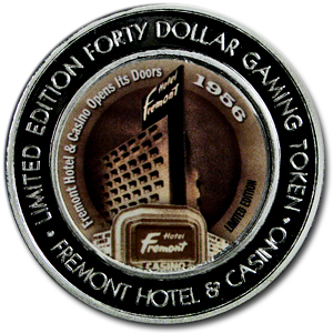1.5 oz Silver Round - $40.00 Gaming Tokens