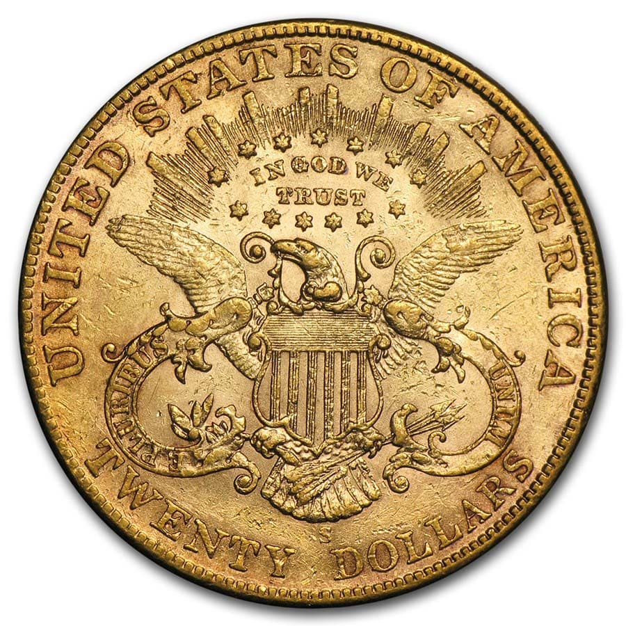 $20 Liberty Gold Double Eagle Extra Fine