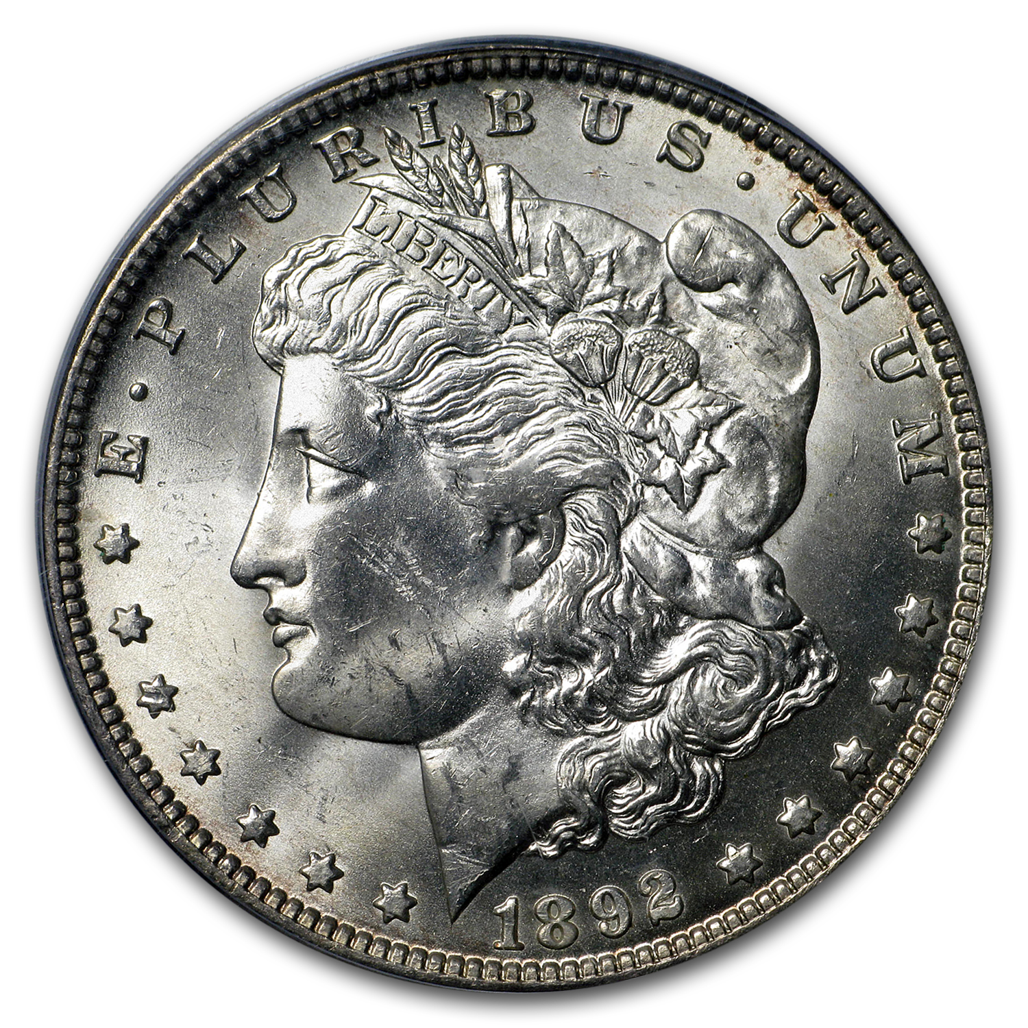 1892-O Morgan Dollar MS-63+ PCGS