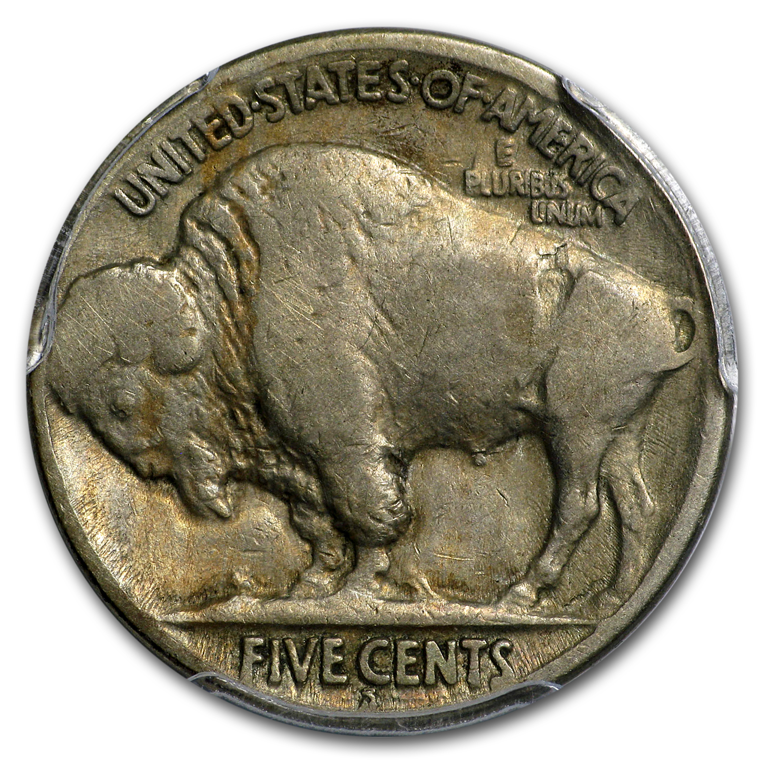 1921-S Buffalo Nickel F-12 PCGS