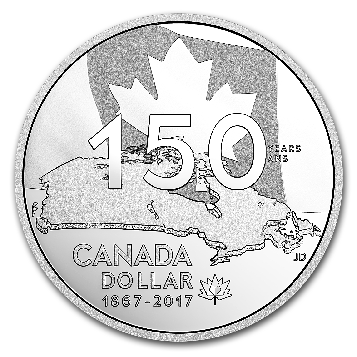 2017 Canada Proof Silver Dollar Our Home and Native Land