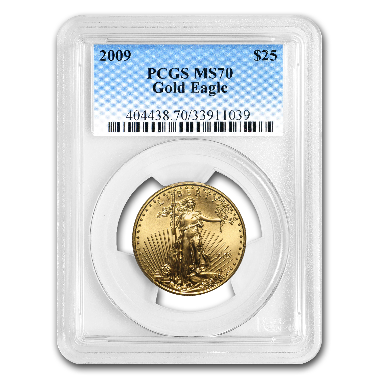 2009 1/2 oz Gold American Eagle MS-70 PCGS