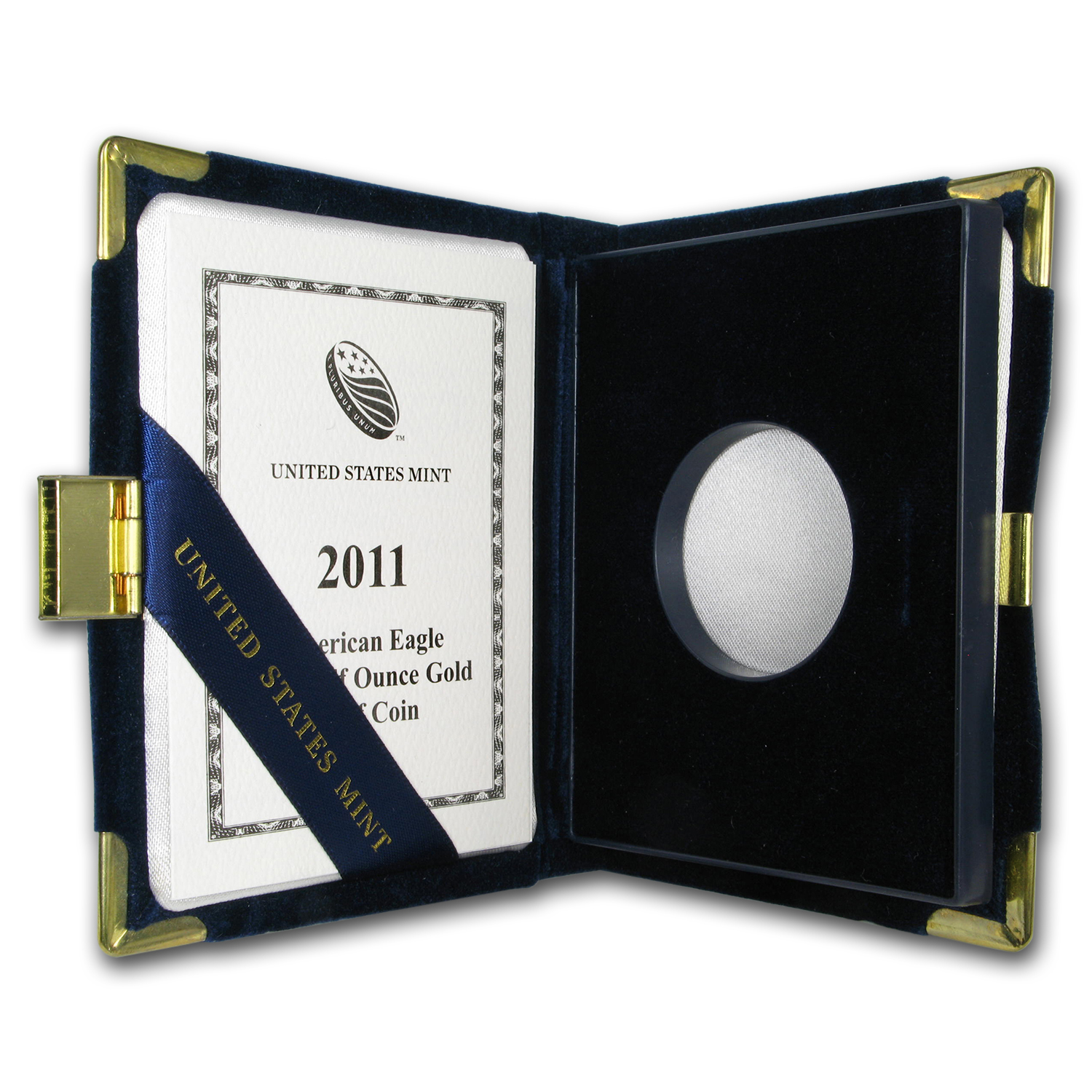 OGP Box & COA - 2011 (W) 1/2 oz Proof Gold American Eagle