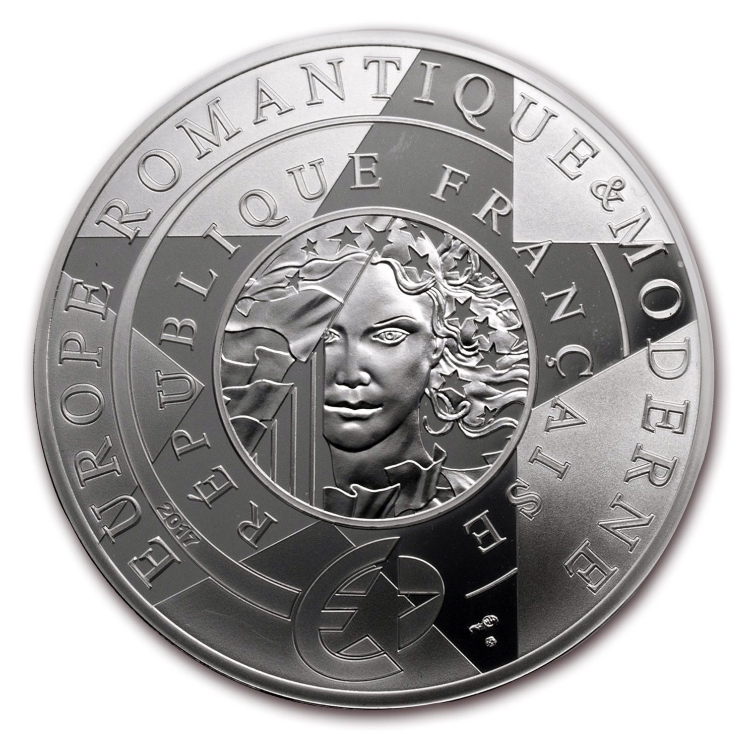 2017 Silver €10 Europa Star (Age of Iron & Glass)