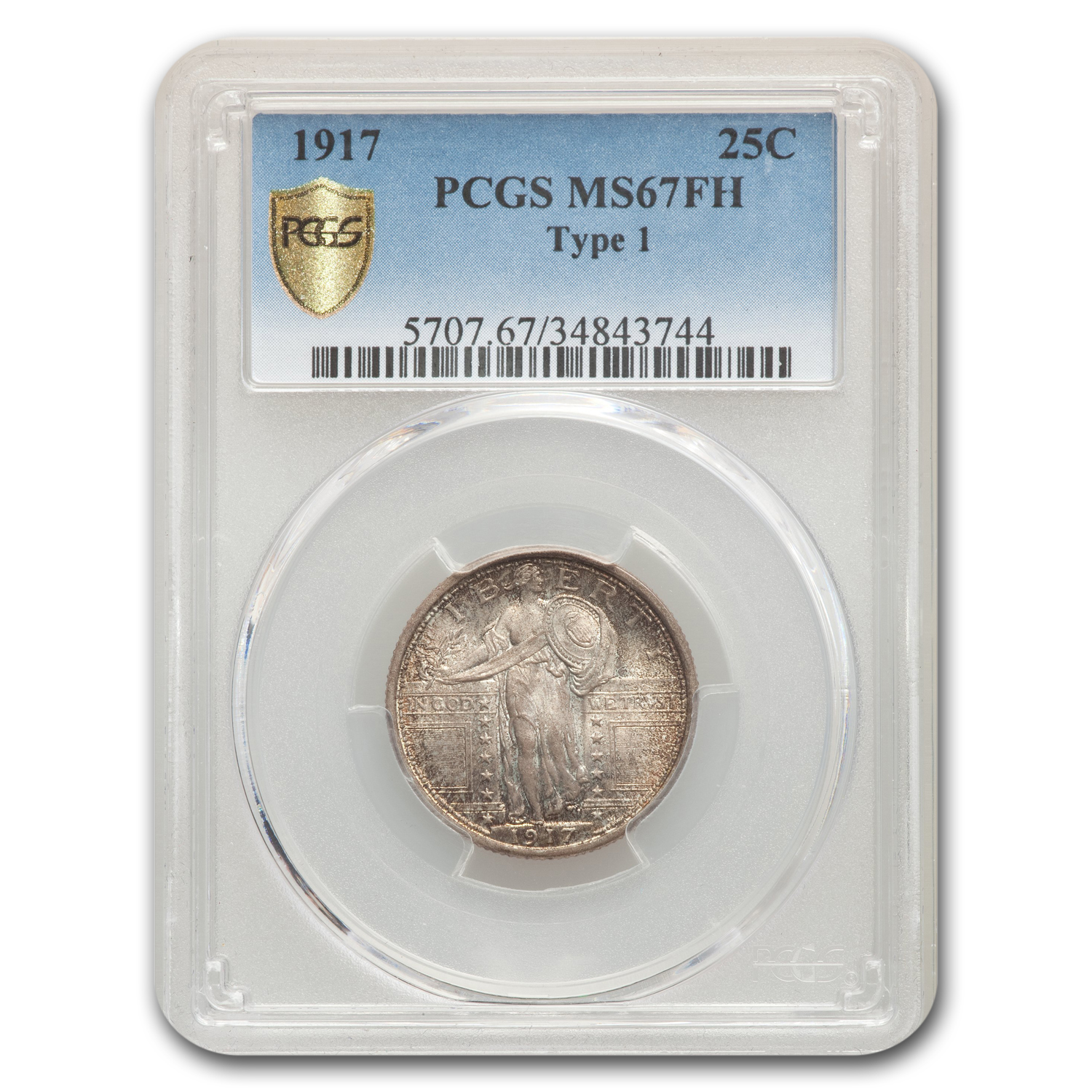 1917 Standing Liberty Quarter MS-67 PCGS (FH)