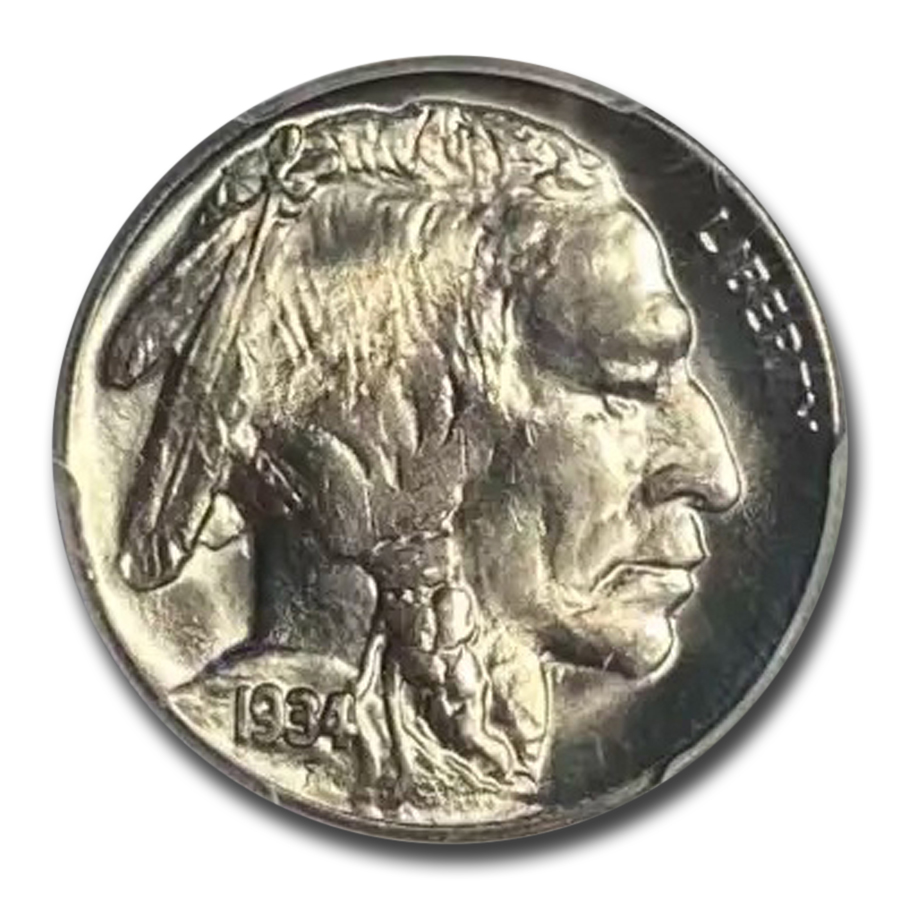1934 Buffalo Nickel MS-65 PCGS
