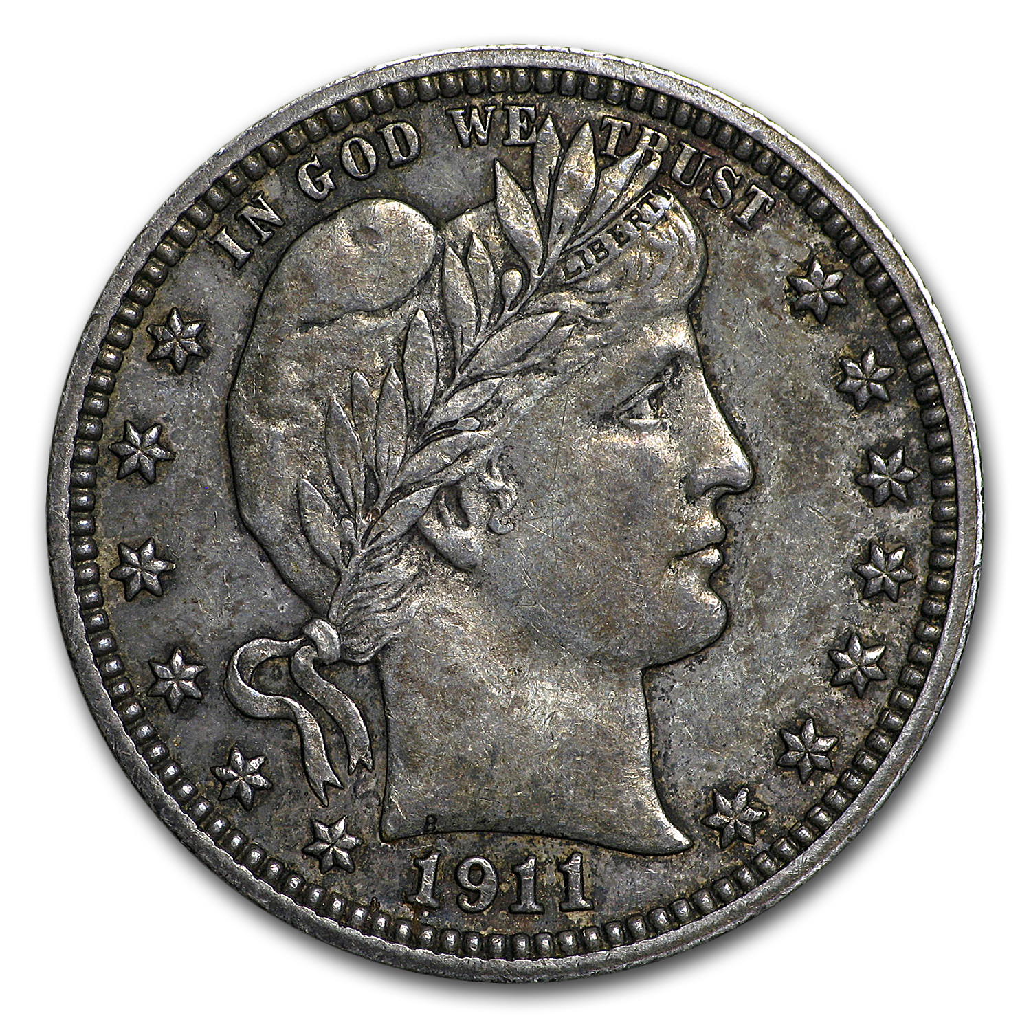 1911 Barber Quarter XF