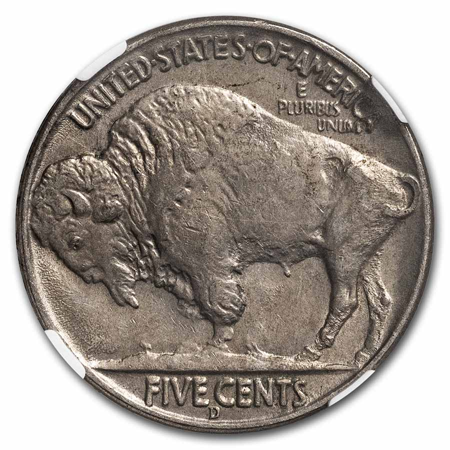 1937-D 3 Legged Buffalo Nickel MS-61 NGC