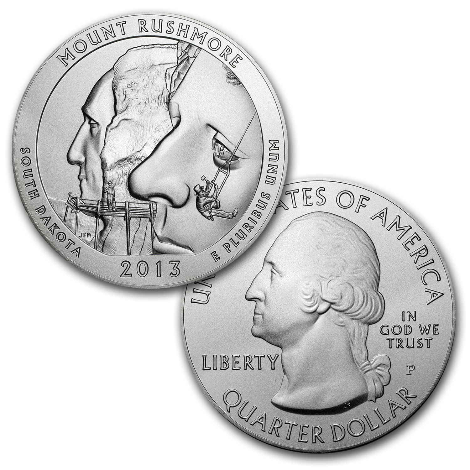 2013-P 5-Coin Burnished 5 oz Silver ATB Set (w/Boxes & COAs)