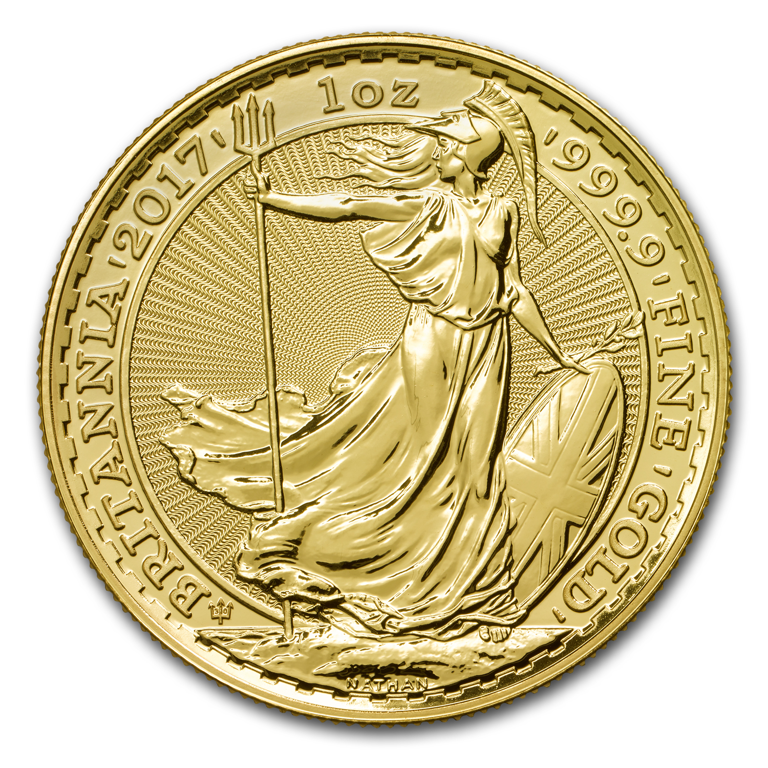 2017 Great Britain 1 oz Gold Britannia (30th Anniversary)