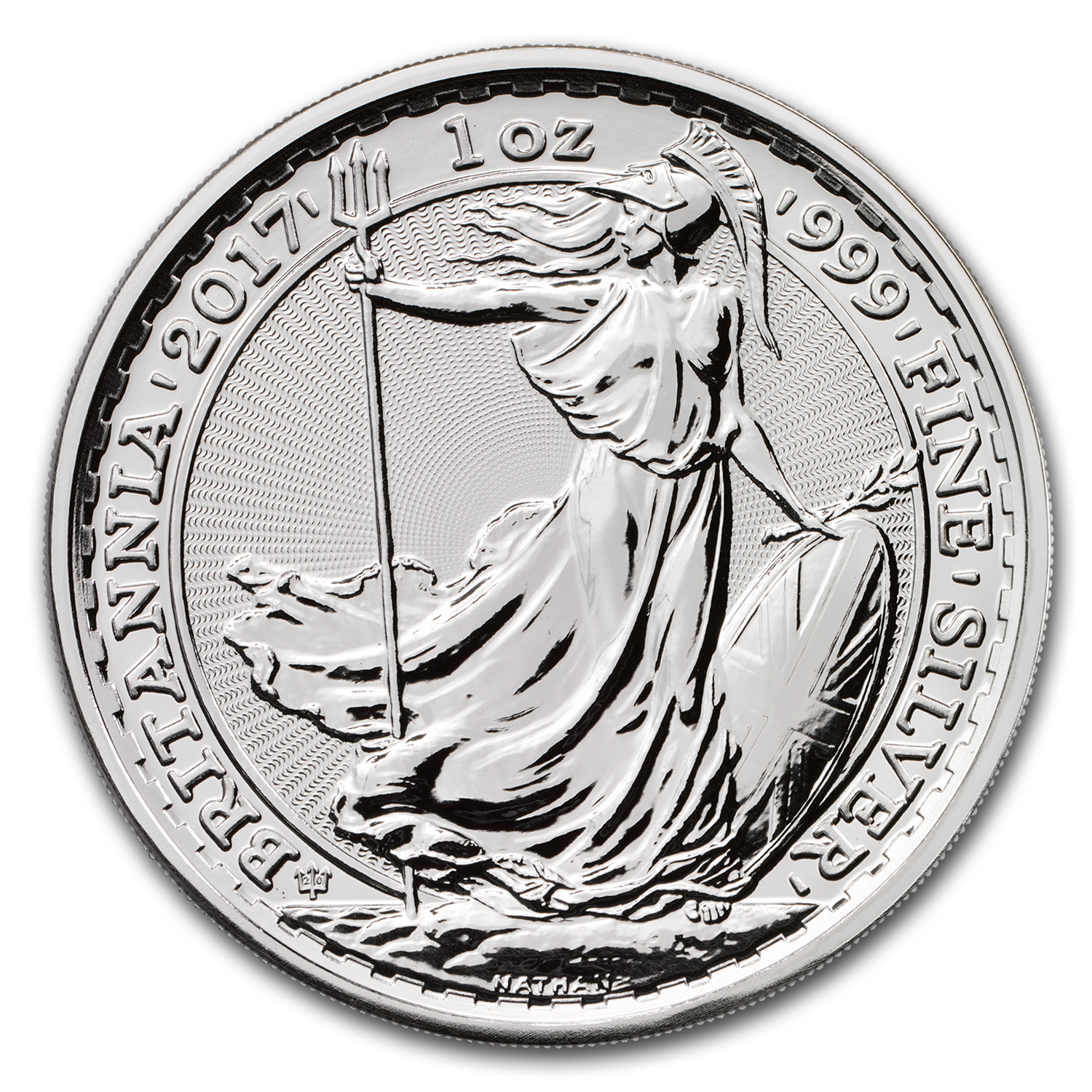2017 Great Britain 1 oz Silver Britannia (20th Anniversary)