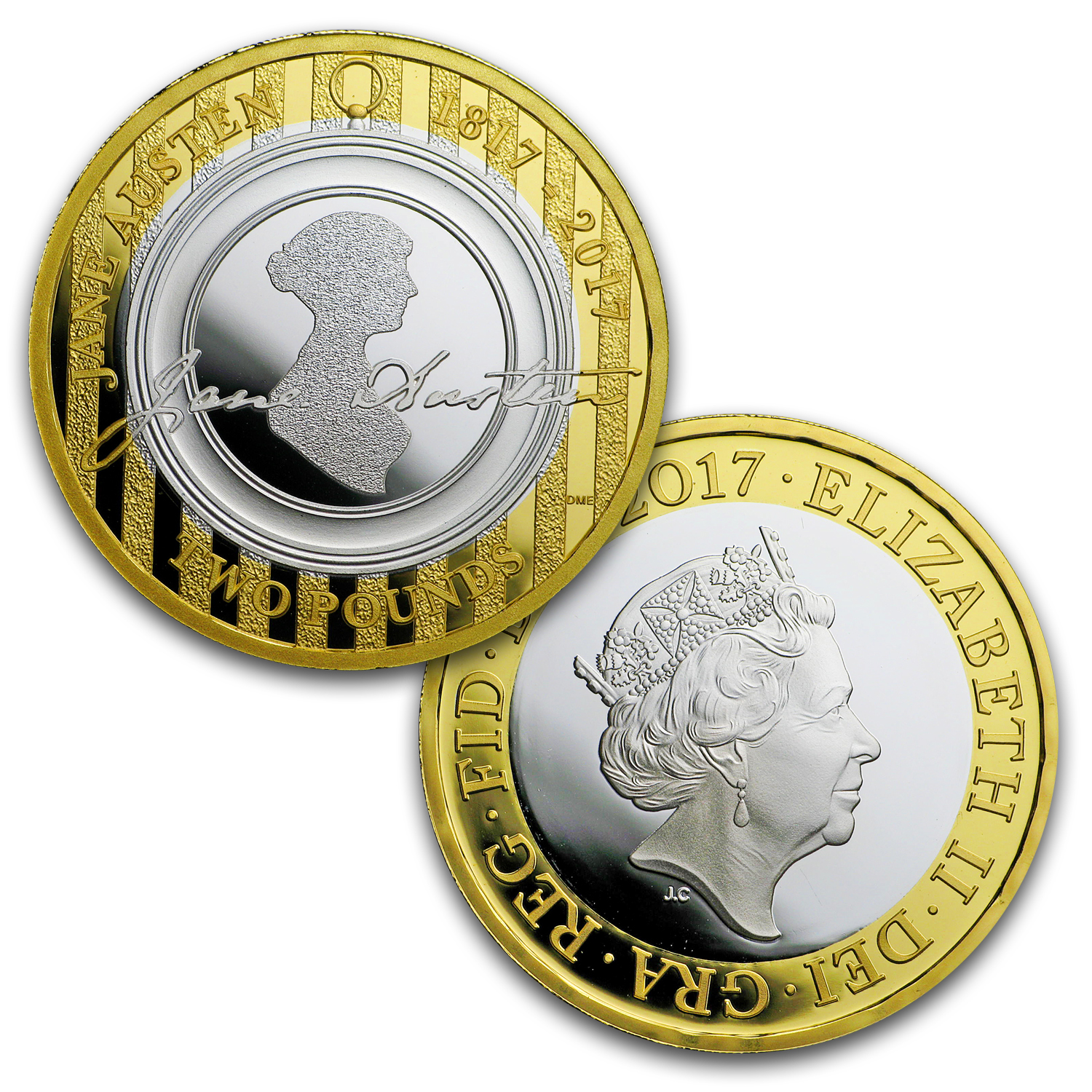 2017 Great Britain 5-Coin Silver Commemorative Proof Set
