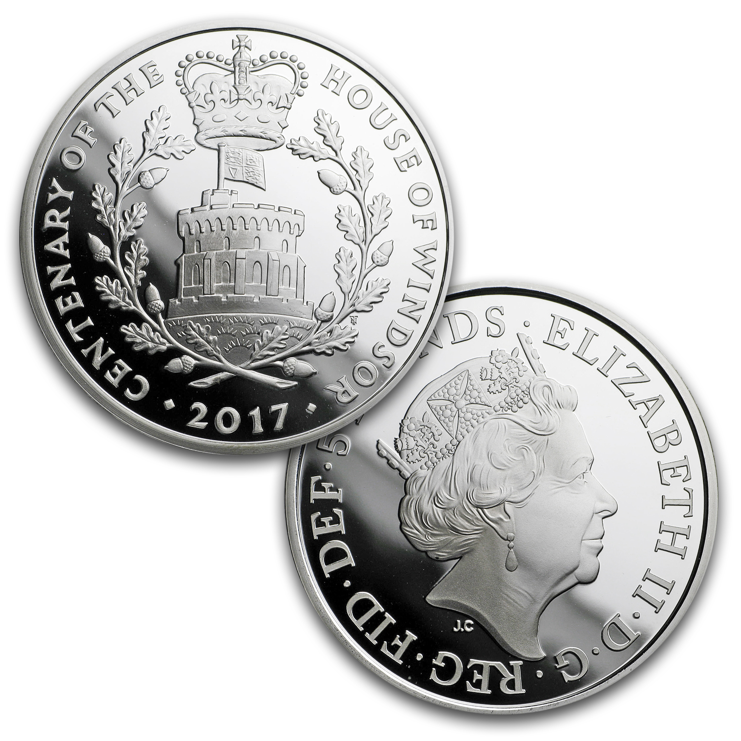 2017 Great Britain 13-Coin Silver Annual Set