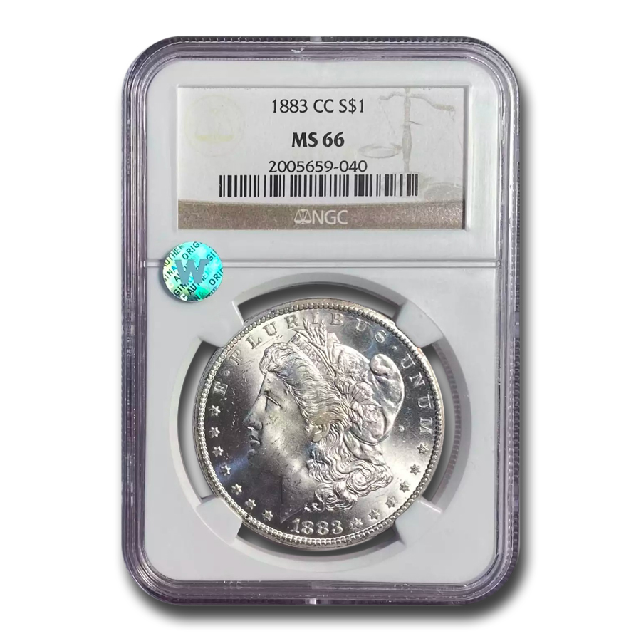 1883-CC Morgan Dollar MS-66 NGC