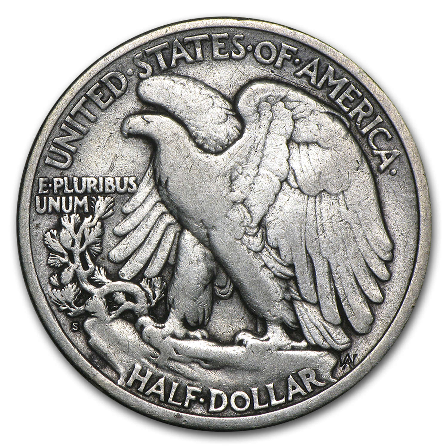 1919-S Walking Liberty Half Dollar Fine
