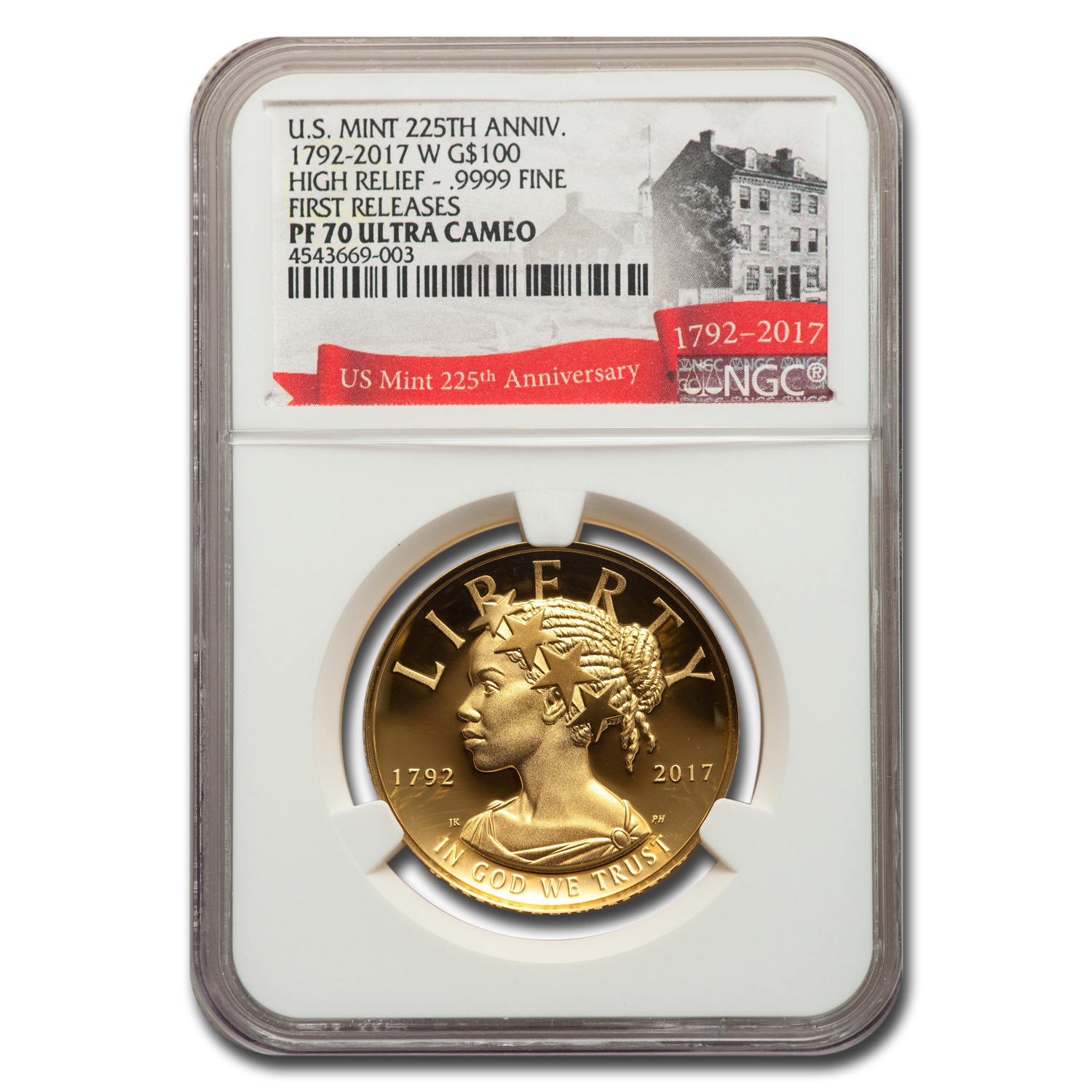 2017 High Relief American Liberty Gold PF-70 NGC (Early Releases)