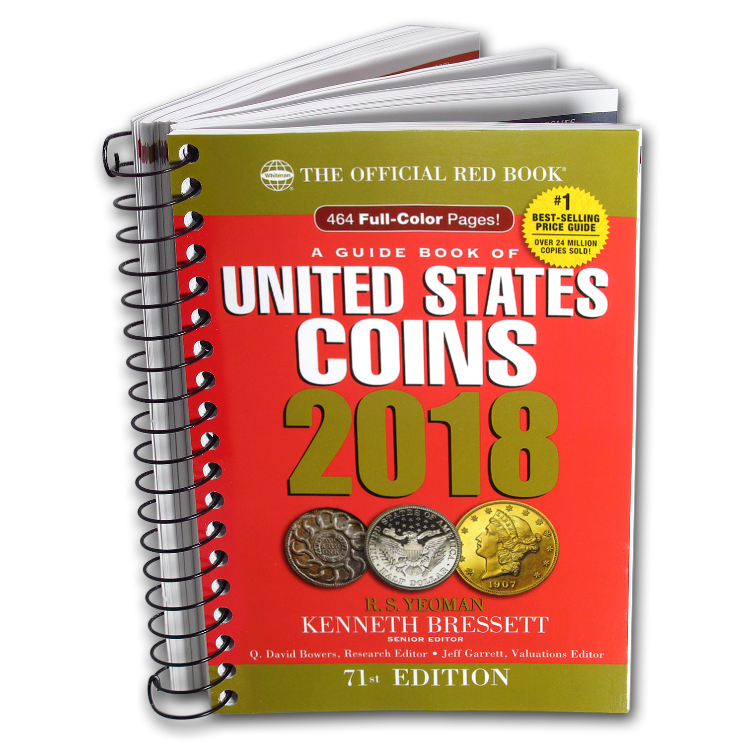 2018 Red Book of United States Coins - Bressett & Yeoman (Spiral)