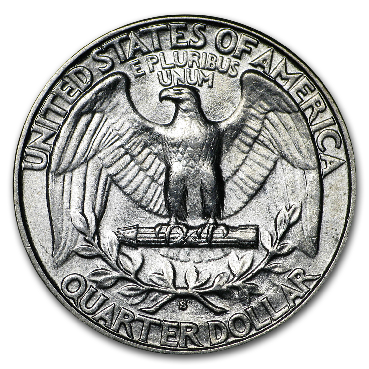 1932-S Washington Quarter AU-58
