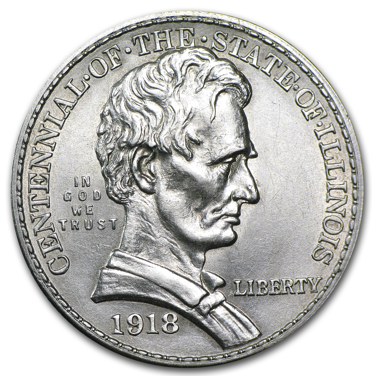 1918 Lincoln Almost Uncirculated