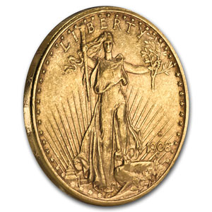 $20 St. Gaudens Gold Double Eagle Extra Fine