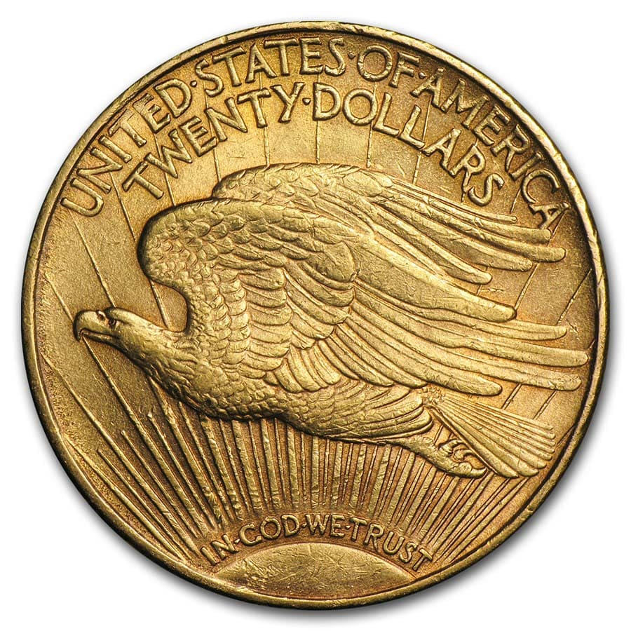 $20 Saint-Gaudens Gold Double Eagle XF